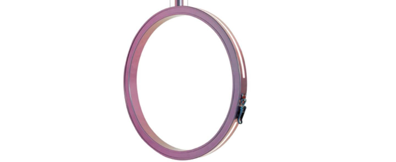Suspension periplo violet led o47 5cm h45 5cm karman normal