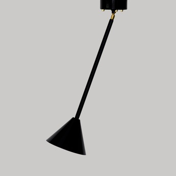 Suspension periscope 073 noir o16cm h56cm atelier areti normal