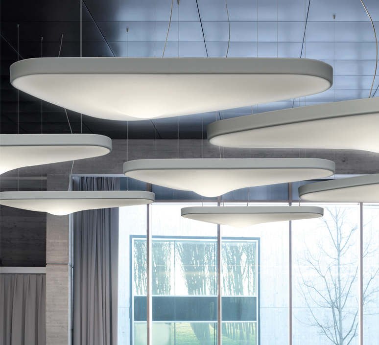 Petale d71p odile decq suspension pendant light  luceplan 1d710p000002  design signed 56145 product