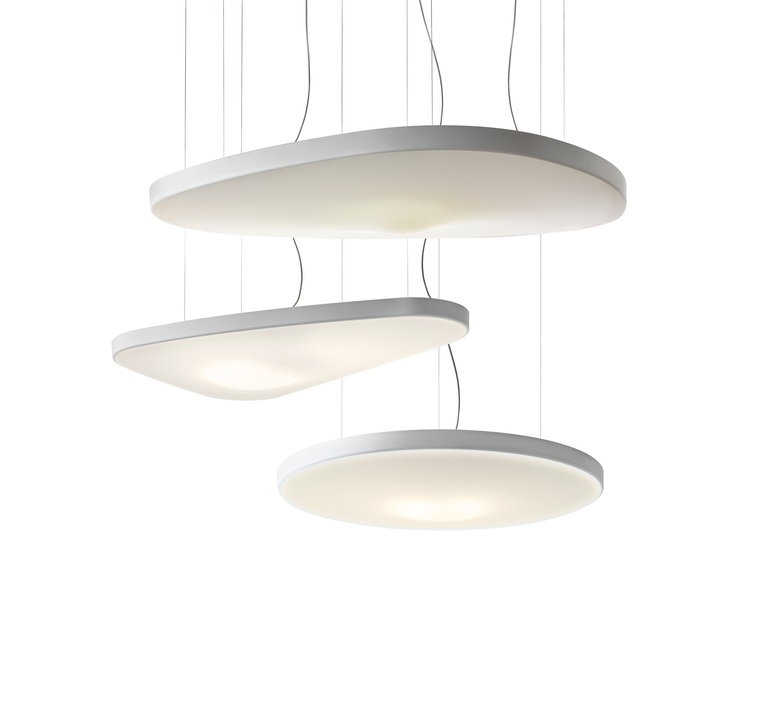 Petale d71p odile decq suspension pendant light  luceplan 1d710p000002  design signed 56163 product