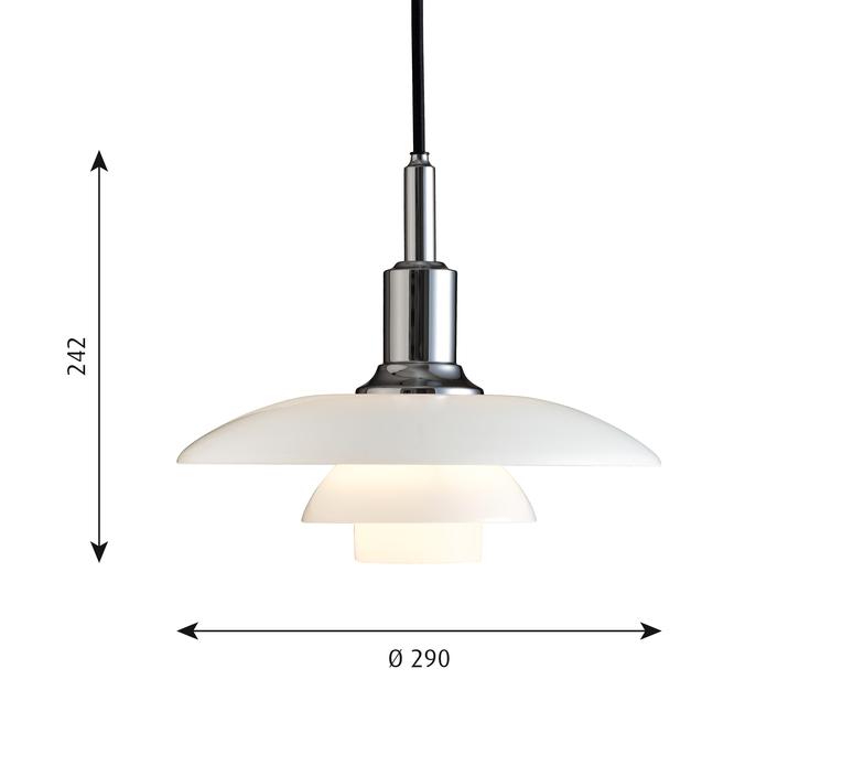 Ph 3 2 suspension  suspension pendant light  louis poulsen 5741097513   design signed 58450 product