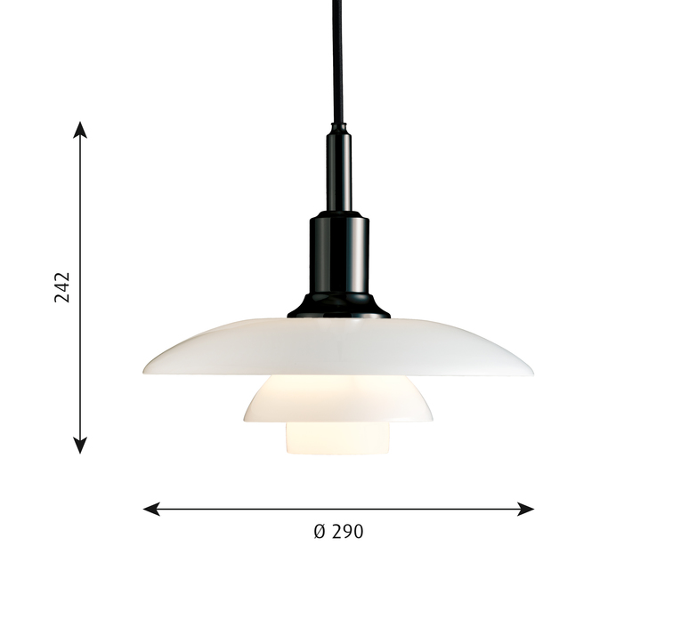 Ph 3 2 suspension  suspension pendant light  louis poulsen 5741097526   design signed 58447 product