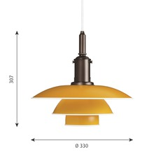 Ph 3 3 poul henningsen suspension pendant light  louis poulsen 5741094817  design signed nedgis 82297 thumb