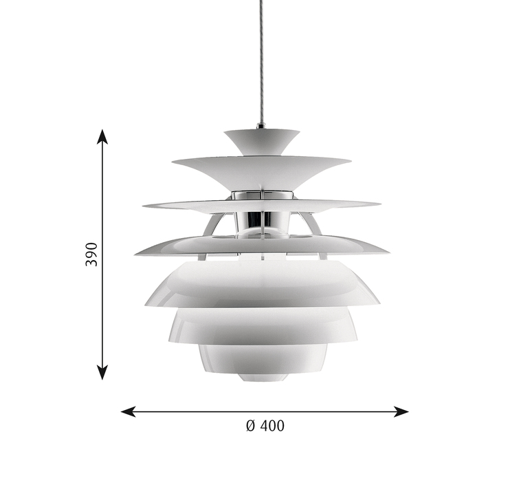 Ph snowball x000d   suspension pendant light  louis poulsen 5741081888  design signed 58439 product