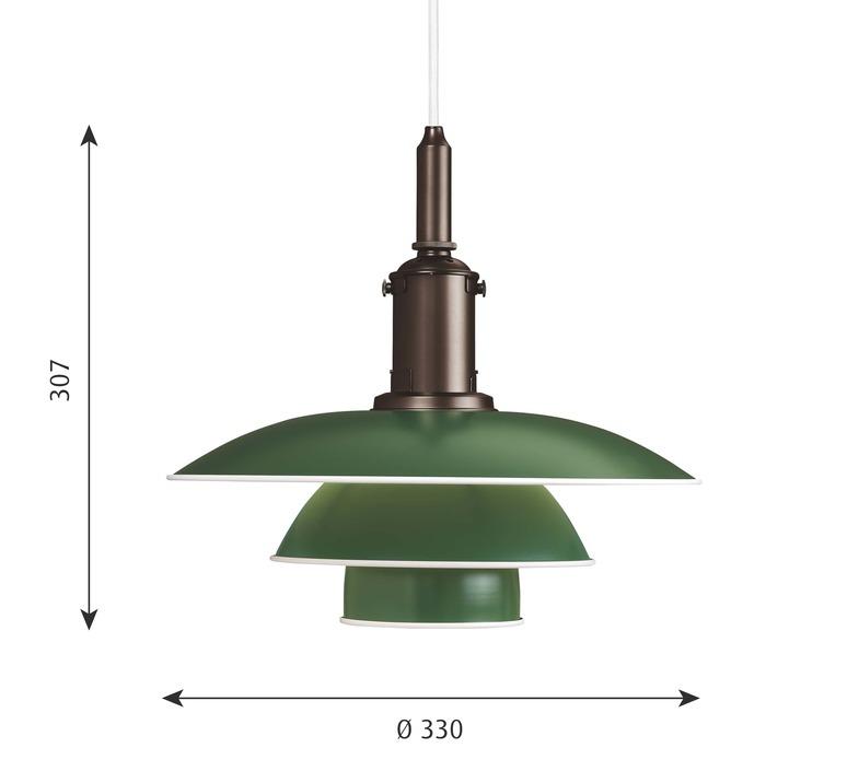Ph3 3 poul henningsen suspension pendant light  louis poulsen 5741094833  design signed nedgis 82311 product
