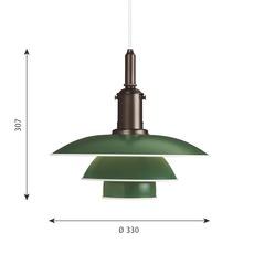 Ph3 3 poul henningsen suspension pendant light  louis poulsen 5741094833  design signed nedgis 82311 thumb