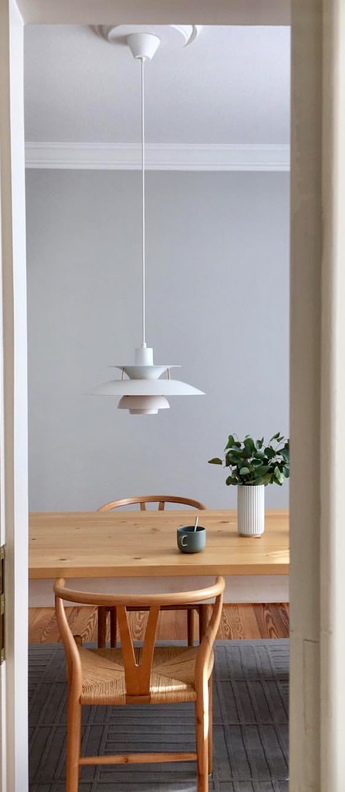 Suspension ph5 blanc o50cm h27 7cm louis poulsen normal