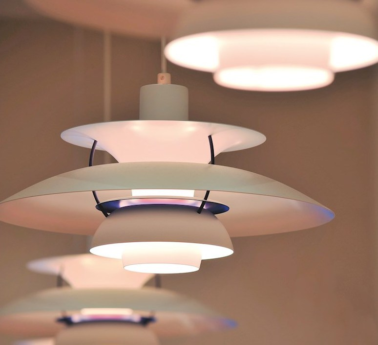 Ph5  poul henningsen suspension pendant light  louis poulsen 5741099870  design signed 48929 product