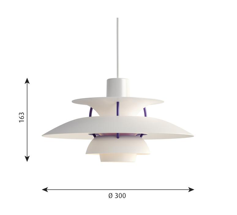 Ph5 mini poul henningsen suspension pendant light  louis poulsen 5741095146  design signed 48641 product