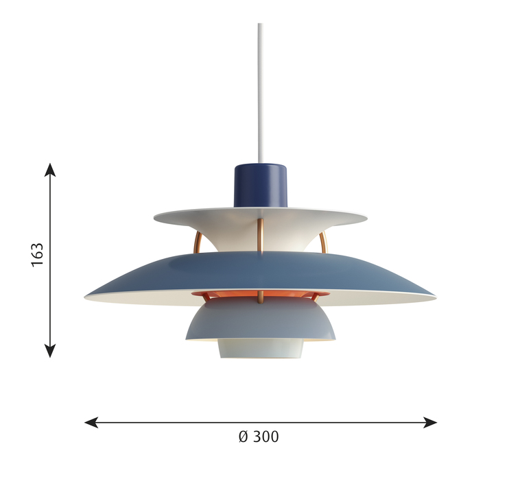 Ph5 mini poul henningsen suspension pendant light  louis poulsen 5741095120  design signed 48643 product