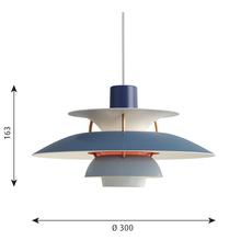 Ph5 mini poul henningsen suspension pendant light  louis poulsen 5741095120  design signed 48643 thumb