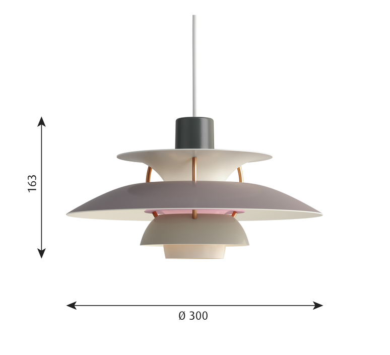 Ph5 mini poul henningsen suspension pendant light  louis poulsen 5741095133  design signed 48645 product