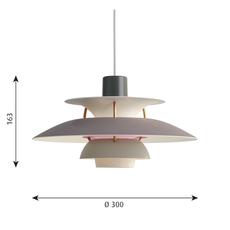 Ph5 mini poul henningsen suspension pendant light  louis poulsen 5741095133  design signed 48645 thumb