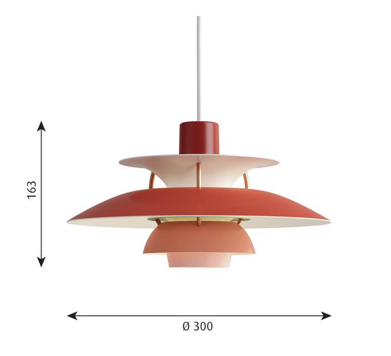 Ph5 mini poul henningsen suspension pendant light  louis poulsen 5741095104  design signed 48649 product