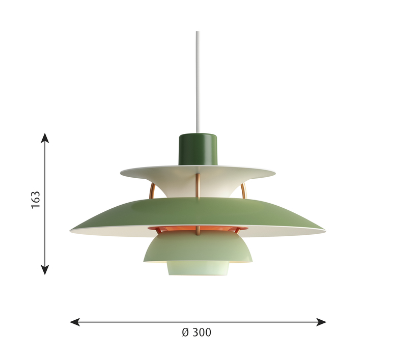 Ph5 mini poul henningsen suspension pendant light  louis poulsen 5741095117  design signed 48651 product