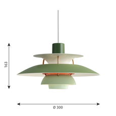 Ph5 mini poul henningsen suspension pendant light  louis poulsen 5741095117  design signed 48651 thumb