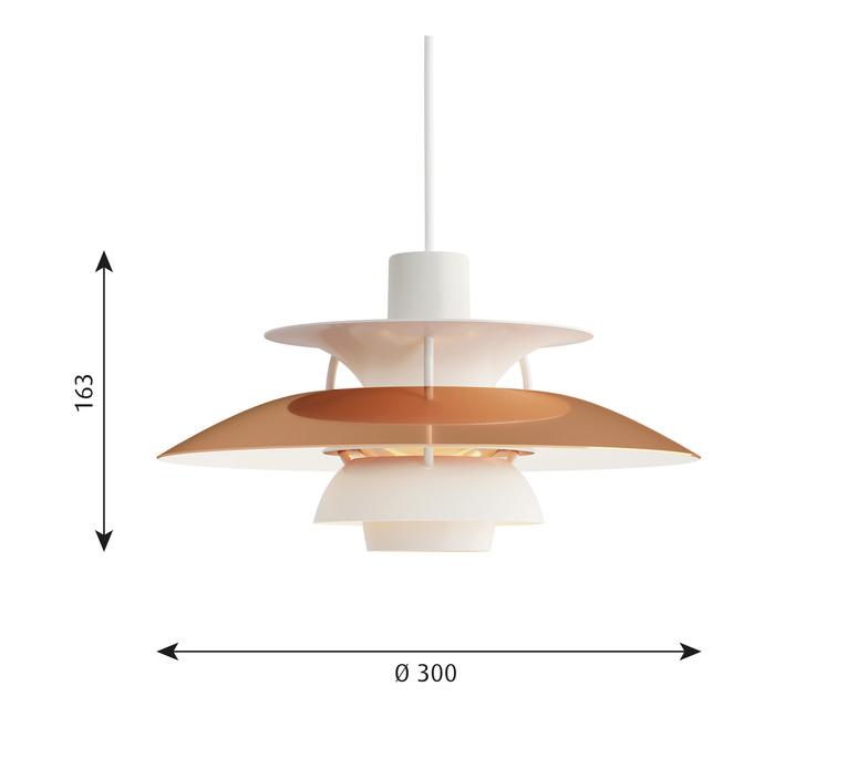 Ph5 mini x000d   suspension pendant light  louis poulsen 5741099883   design signed 58430 product