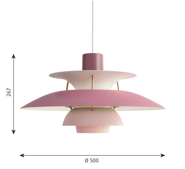 Ph5 poul henningsen suspension pendant light  louis poulsen 5741099799  design signed 48956 product