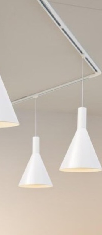 Suspension phelia aluminium blanc o27 5cm h32cm slv normal