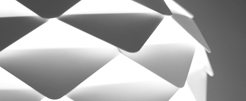 Suspension phi blanc o40cm b lux normal