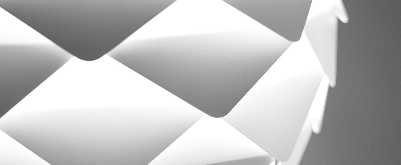 Suspension phi blanc o80cm b lux normal