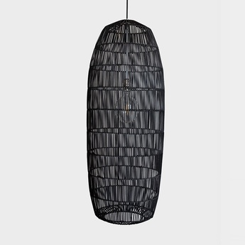 Suspension pickle black large noir o40cm h106cm ay illuminate normal