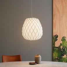 Pinecone paola navone suspension pendant light  fontana arte 4339bi blanc chrome  design signed nedgis 65707 thumb