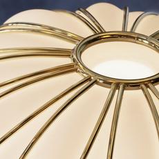 Pinecone paola navone suspension pendant light  fontana arte 4339oo bi blanc gold  design signed nedgis 65709 thumb