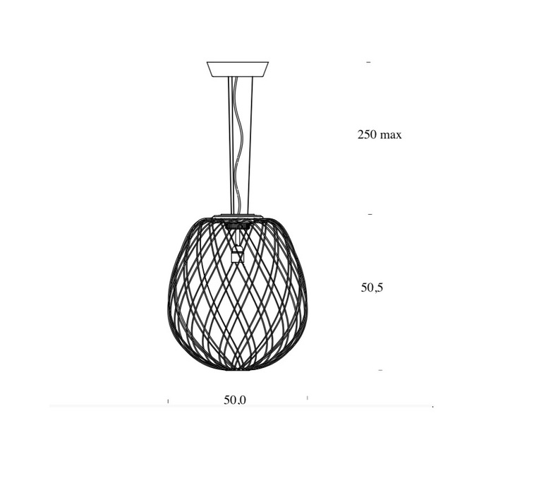 Pinecone paola nanove fontanaarte 4339ti luminaire lighting design signed 24594 product