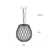Pinecone paola nanove fontanaarte 4339ti luminaire lighting design signed 24594 thumb