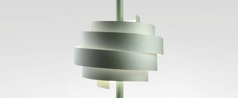 Suspension piola led vert dimmable h58cm o44 5cm marset normal