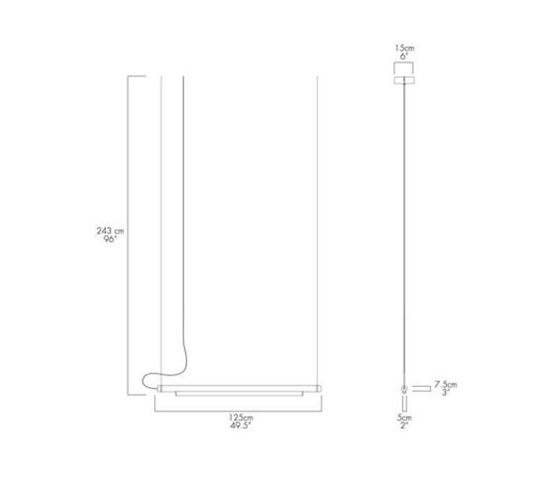 Pipeline 125 dali  caine heintzman suspension pendant light  andlight pip 125 p bk 27 dal 230  design signed nedgis 90452 product