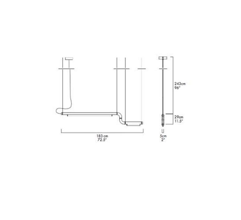Pipeline cm2 dali  caine heintzman suspension pendant light  andlight pip cm2 p bk 27 dal 230  design signed nedgis 90462 product