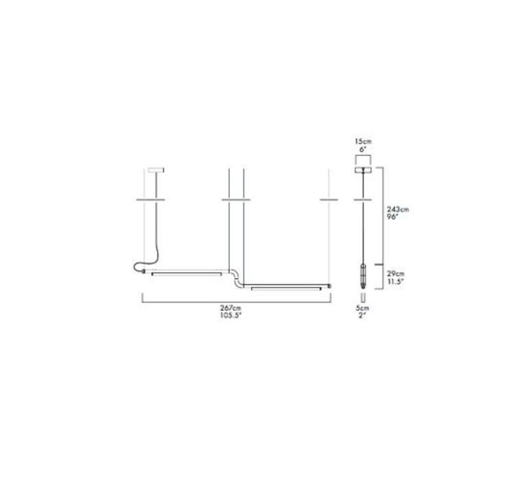 Pipeline cm3 dali  caine heintzman suspension pendant light  andlight pip cm3 p bk 27 dal 230  design signed nedgis 90641 product