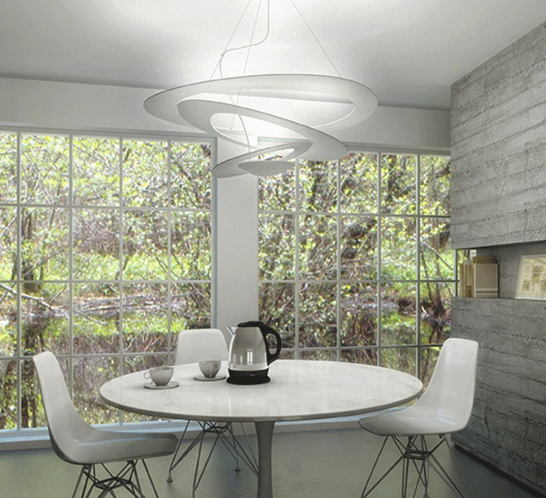 Pirce giuseppe maurizio scutella  suspension pendant light  artemide  1254w10a  design signed 35287 product