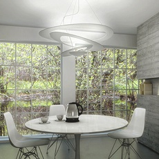 Pirce giuseppe maurizio scutella  suspension pendant light  artemide  1254w10a  design signed 35287 thumb