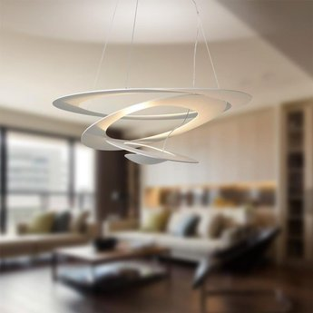 Suspension pirce blanc r7s h28cm l97cm artemide normal