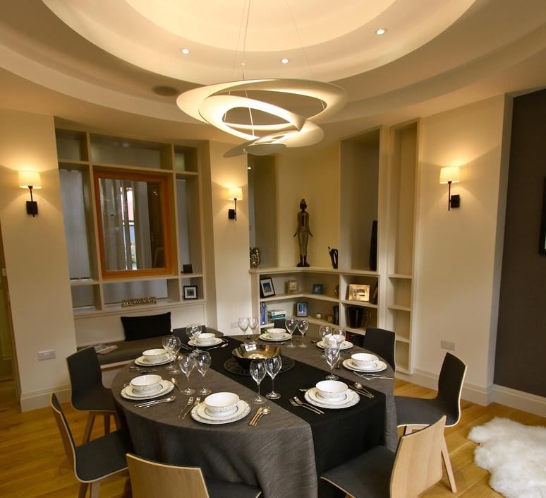 suspension pirce or led dimmable h28cm l97cm artemide luminaires nedgis. Black Bedroom Furniture Sets. Home Design Ideas