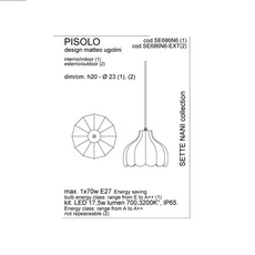 Pisolo matteo ugolini karman se686n6 luminaire lighting design signed 19667 thumb