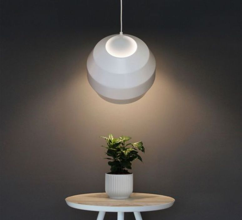 Pitch  suspension pendant light  vitamin pitch pendant white  design signed 39396 product