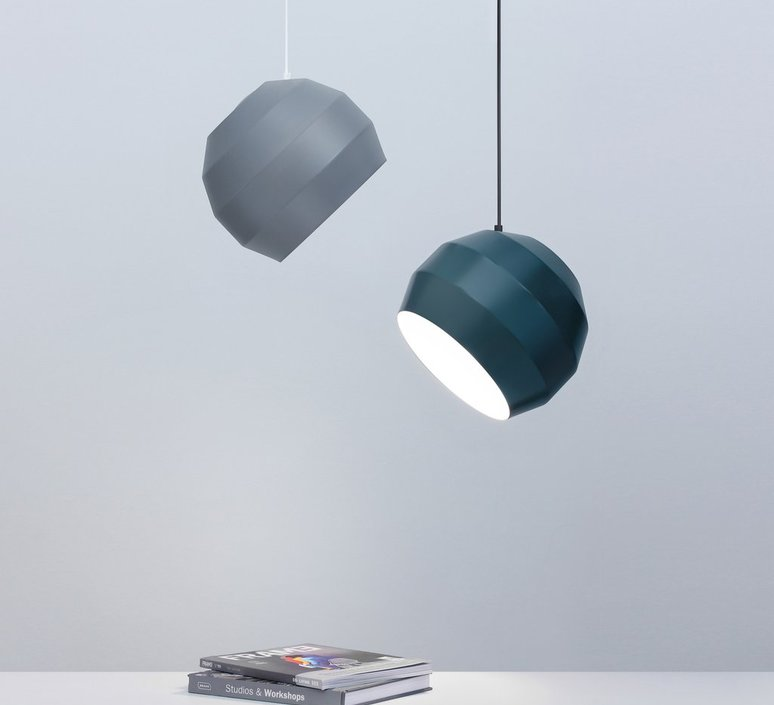 Pitch  suspension pendant light  vitamin pitch pendant grey  design signed 39399 product