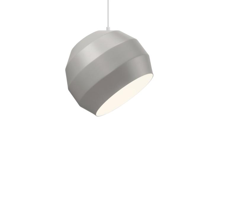 Pitch  suspension pendant light  vitamin pitch pendant grey  design signed 39401 product