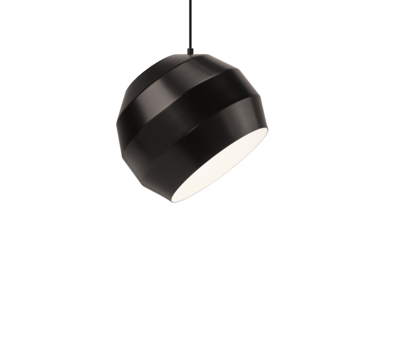 Pitch  suspension pendant light  vitamin pitch pendant black  design signed 39404 product