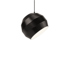 Pitch  suspension pendant light  vitamin pitch pendant black  design signed 39404 thumb