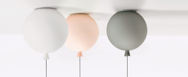Suspension plafonnier memory blanc gris rose o110cm brokis normal