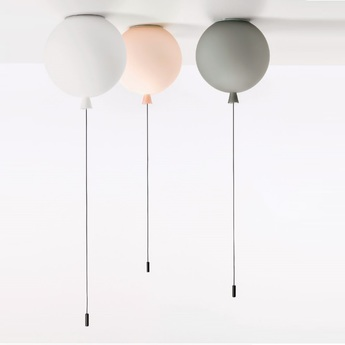 Suspension plafonnier memory blanc gris rose o110cm brokis normal