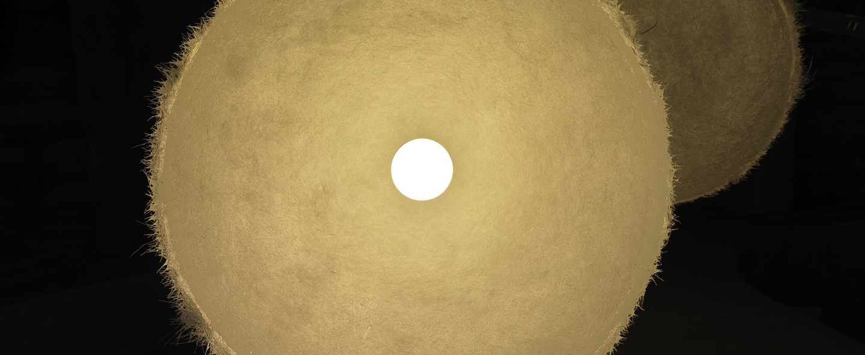 Suspension plancton blanc o45cm karman normal