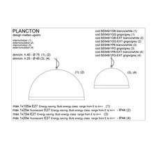 Plancton matteo ugolini karman se649 1gb luminaire lighting design signed 19603 thumb