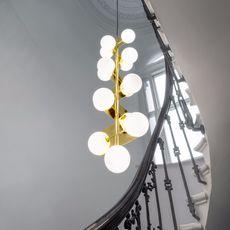 Plane drop chandelier tom dixon suspension pendant light  tom dixon sll05beu  design signed 48625 thumb