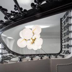 Plane drop chandelier tom dixon suspension pendant light  tom dixon sll05beu  design signed 48627 thumb